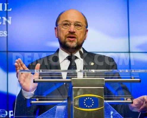 Martin Schulz - 2.TTIP Resolution Vote postponed