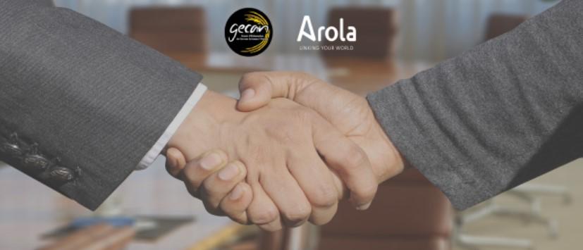 Acuerdo de colaboración GECAN Y AROLA