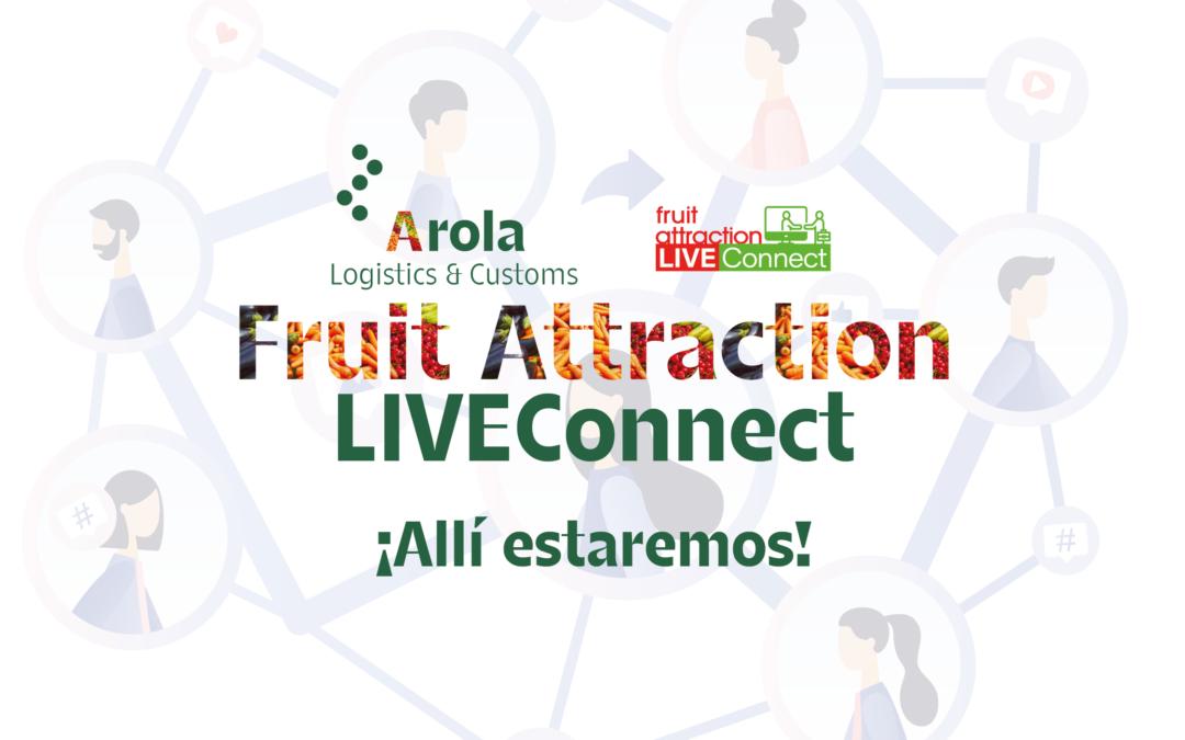 Presentes en la feria  FRUIT ATTRACTION LIVEConnect