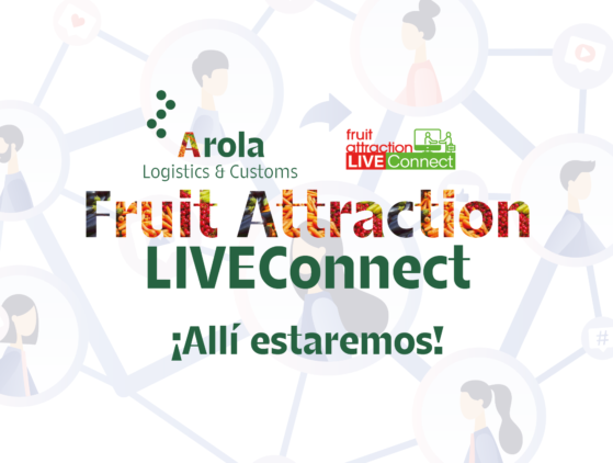 Presentes en la feria  FRUIT ATTRACTION LIVEConnect