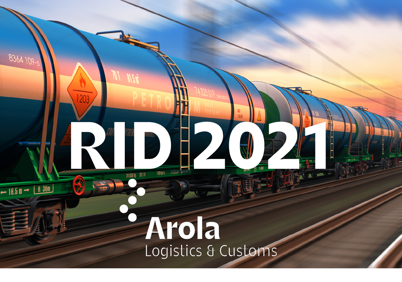 Transporte Internacional de Mercancías Peligrosas por Ferrocarril (RID 2021)
