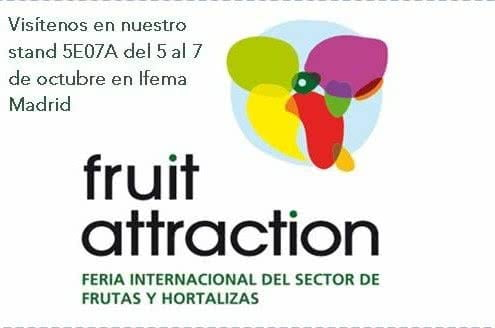 Find Us at the Fruit Atraction Exhibiton
