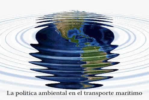 Política ambiental en el transporte marítimo